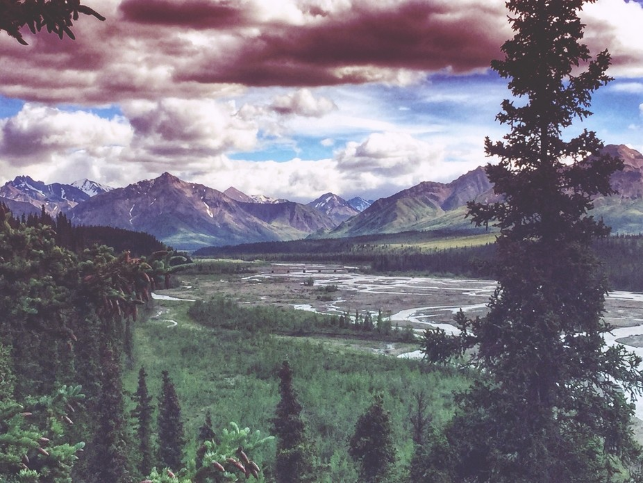 A shot of the Teklanika River located in Denali National Park, AK.  Taken during my last trip the...
