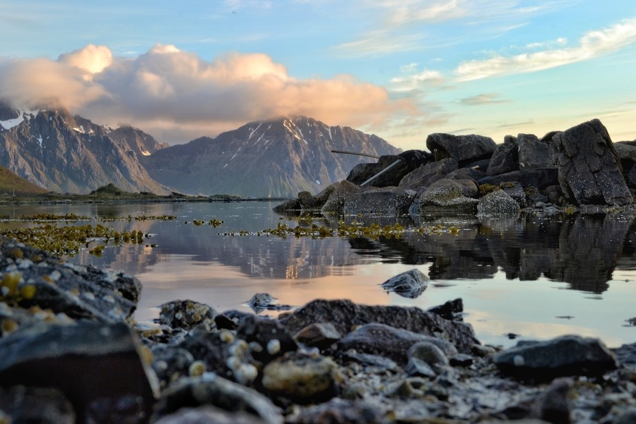 Reflection from Lofoten, NORTH of Norway