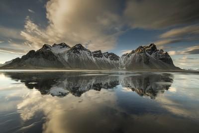 Mountain Vestrahorn in Iceland