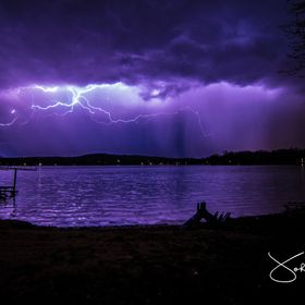 Best shot of many. First time taking Lightning photos, still some learning to do!