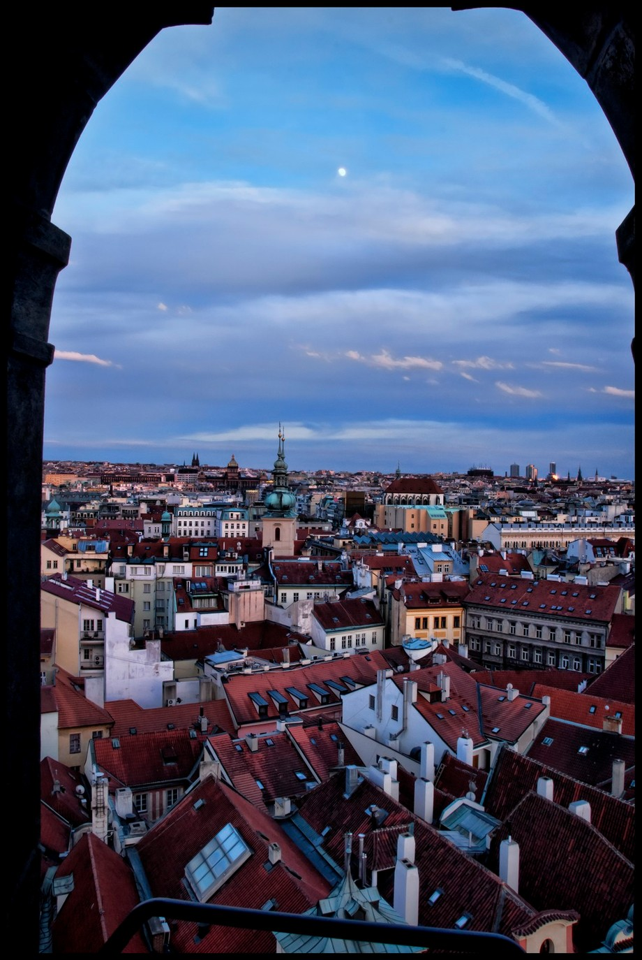 Prague Window View