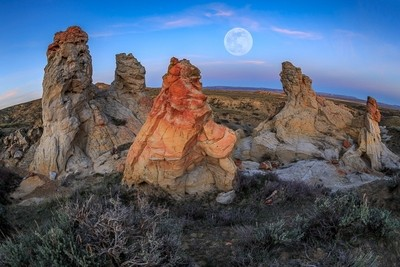 Full Moon Over Wyoming