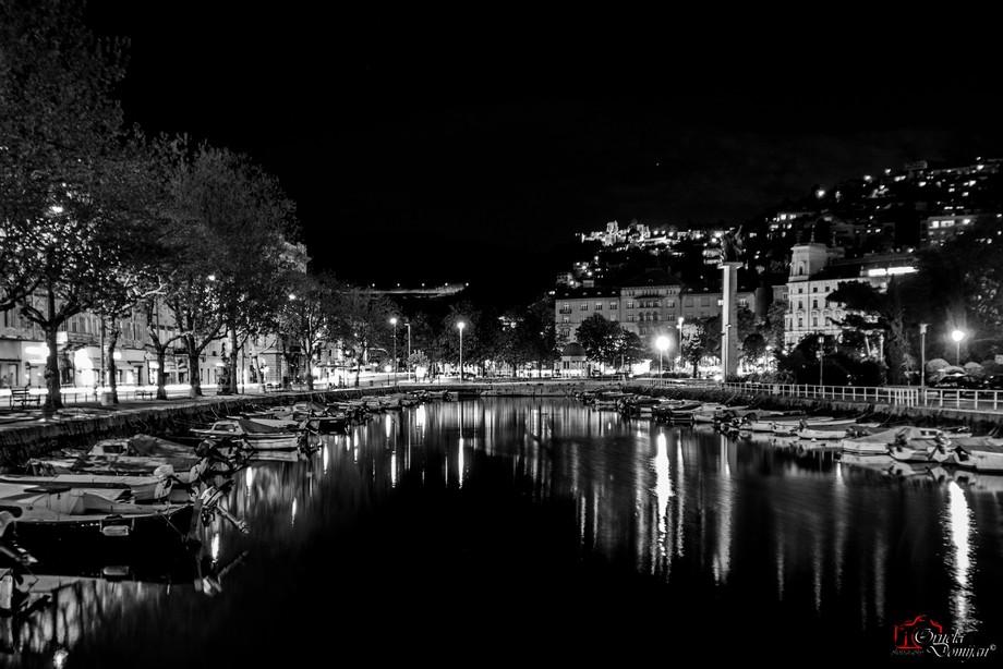Rijeka at night