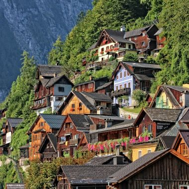 I took this photo while me and my family were visiting hallstatt, in Austria in the year 2016.