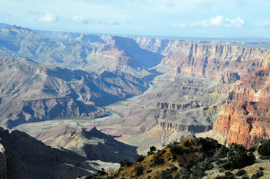 Big view at the Grand Canyon
