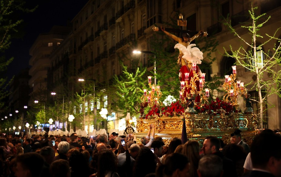Granada during the Semana Santa. Spain
