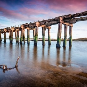 Old Lawson's Railway Bridge - Ballyaghran Point  Having done some research i believe this old Railway Bridge was created back in the late 1...