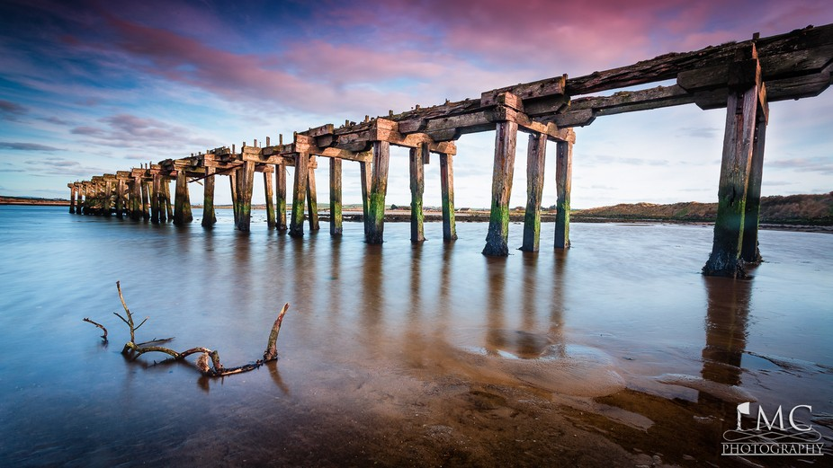 Old Lawson's Railway Bridge - Ballyaghran Point  Having done some research i believe th...
