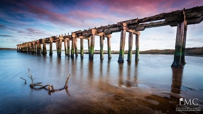 Old Lawsons Railway Bridge - Pmc Photography