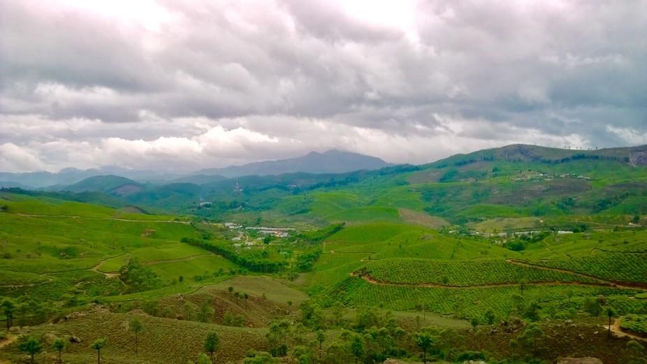 Shot at Munnar Kerala a beautiful terrain of Tea Estates