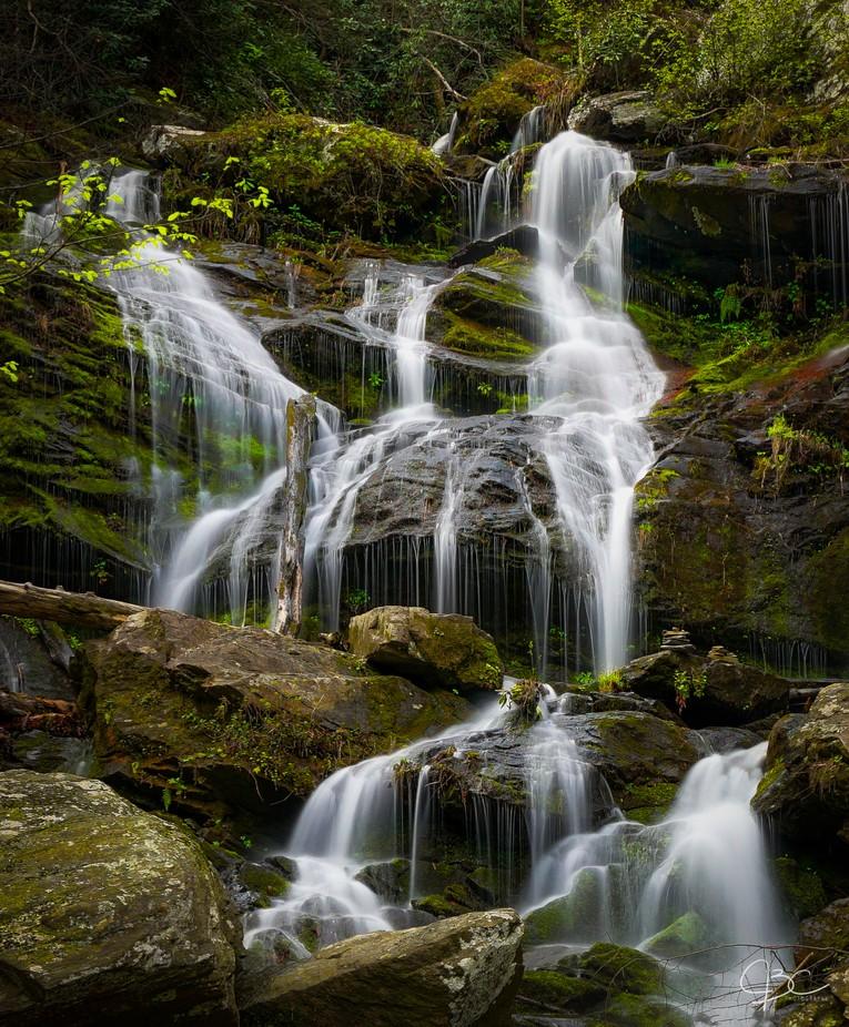Catawba River Falls Closeup by mrjcall - Beautiful Waterfalls Photo Contest
