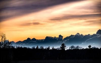 """The Simcoe """"mountains"""""""