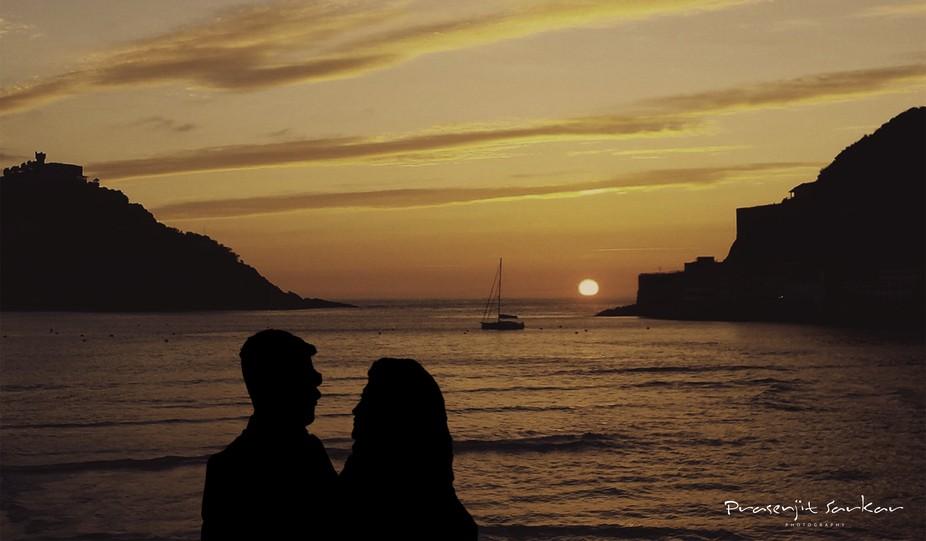 Silhouette - Couple