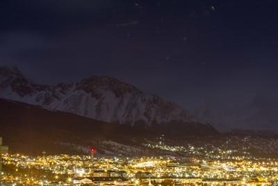 Ushuaia at night