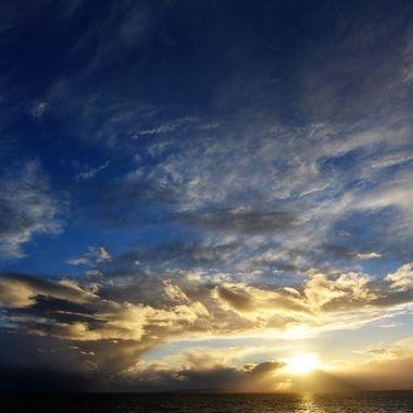Frantic clouds