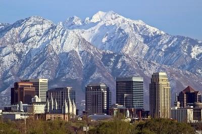 Salt Lake City Skyline #2