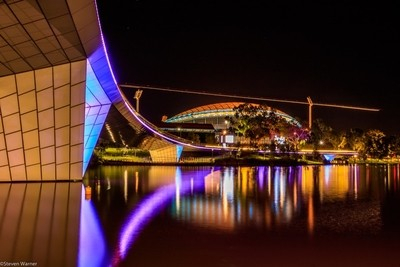 Adelaide Oval and Torrens
