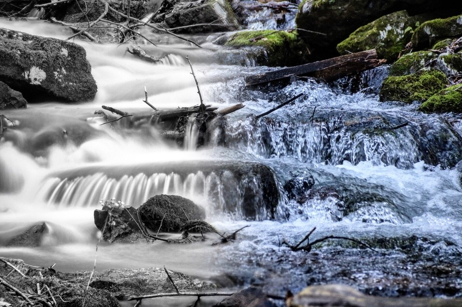 Stacked image. Left image was a two second exposure, while the image on the right was 1/250 expos...