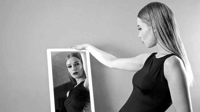 Ella in Reflection by jvcimages - Mirror Mirror On The Wall Photo Contest
