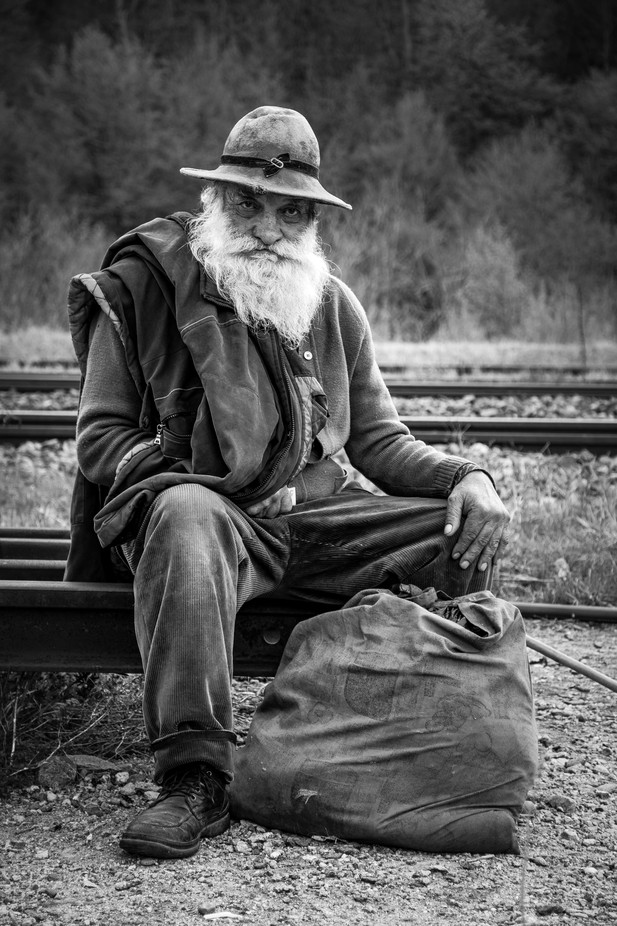 Traveler by whiteshipdesign - The Face Of A Man Photo Contest