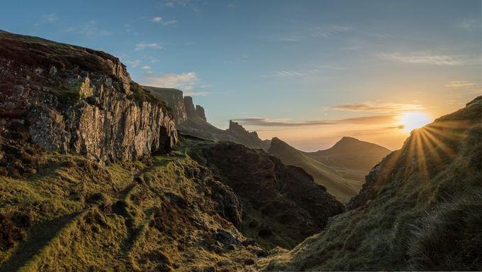 Quiraing Sunrise II by mfagadar - The First Light Photo Contest