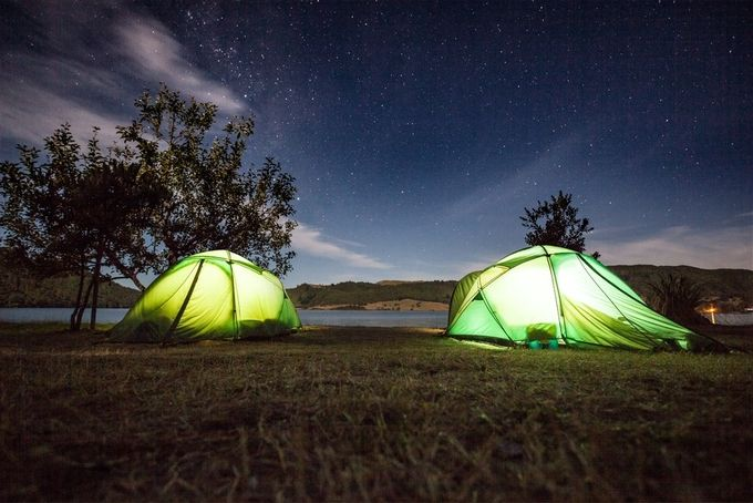 DOC campsite by A-Kamermans - Night Wonders Photo Contest