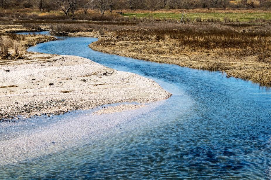 Salt Marsh Estuary-Silver Sands State Park, Milford CT