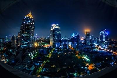 Bangkok with a Fisheye