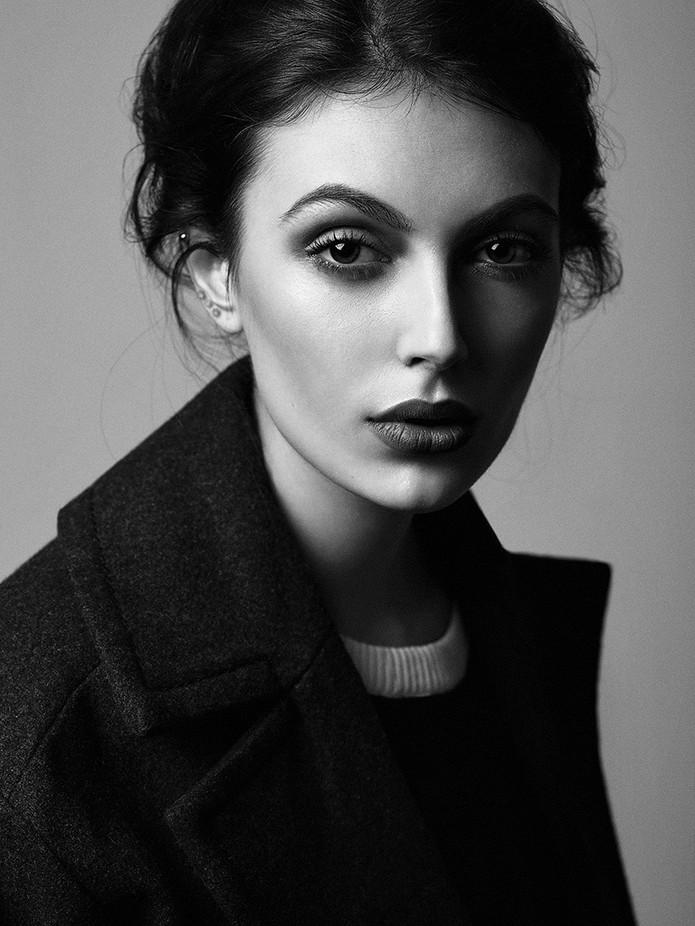 Nastya by alexeykazantsev - Black And White Female Portraits Photo Contest
