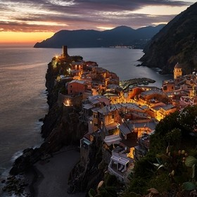 Vernazza is truly a beautiful village! One of my favorites of the Cinque terre. The sights are amazing there! The Multi-colored houses around the...