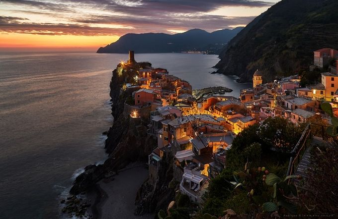 The Heart Of Cinque Terre by Rodrigueelhajj - Artificial Light Photo Contest 2017