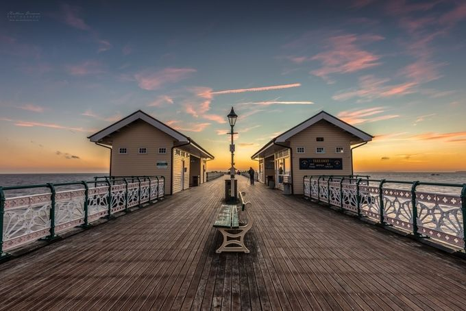 Penarth Pier at Sunrise [II] by mathewbrowne - Promenades And Boardwalks Photo Contest