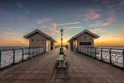 Penarth Pier at Sunrise [II]