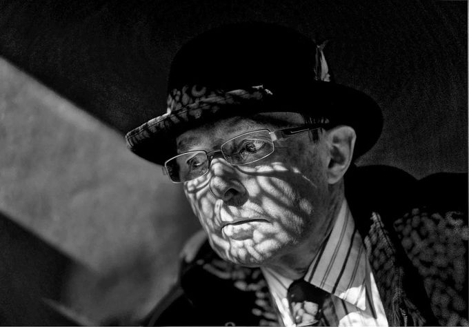 Codebreaker B&W by ronsmith - Portraits With Depth Photo Contest