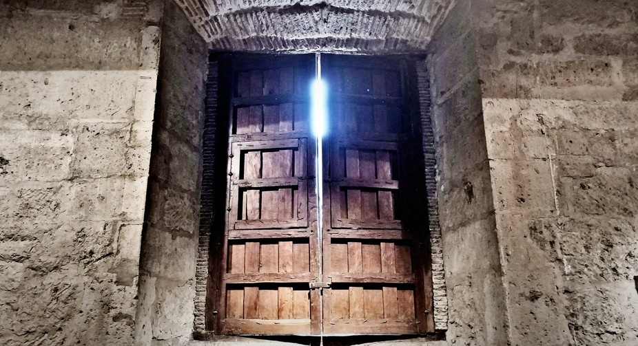 Even when you feel trapped, you must find the light that will lead you to the exit.