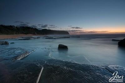 Sunrise Turimetta Beach
