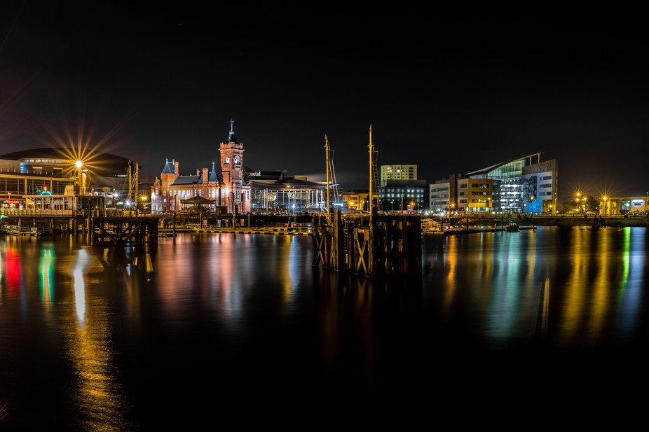 theres once place, in England an Wales I can go, and feel at peace, more is here, Cardiff Bay, So...