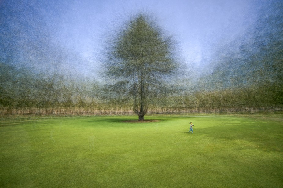 "This is a composite of multiple exposures, taken ""in the round"", a technique ex..."