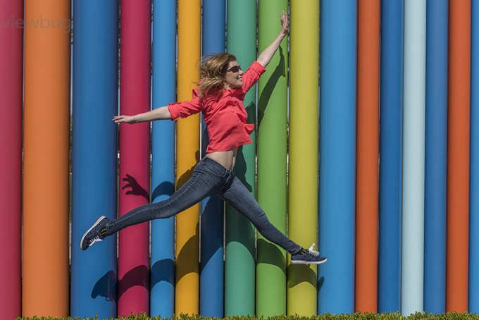 Jump 1 by mjkirkland - Colorful And Bright Photo Contest
