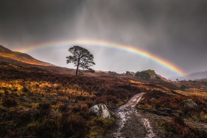 Affric Rainbow by Vemsteroo - Rainbows Overhead Photo Contest