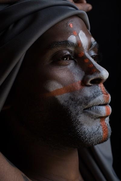America The Beautiful - African Male