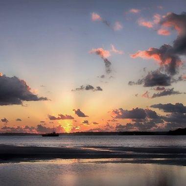 Sunrise - Tin Can Bay, Australia