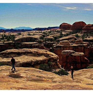 Elephant Hill area in Canyonlands National Parks.
