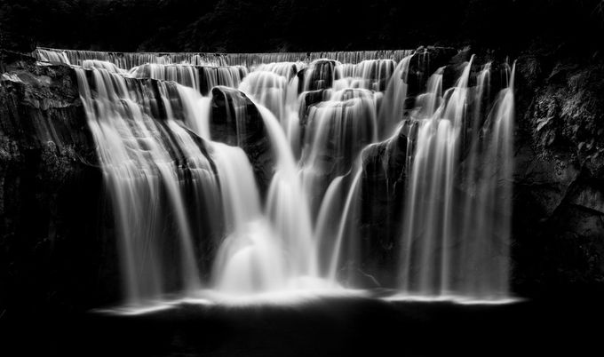 Shifen waterfall 3 by adammassingale - The Magic Of Editing Photo Contest