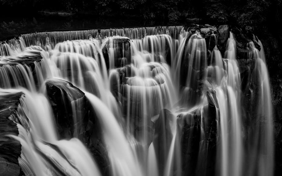 Shifen waterfall in Taiwan.