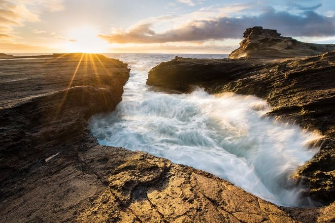 Hawaiian Sunrise - Oahu 2 by rheebird - My Best Shot Photo Contest Vol 3