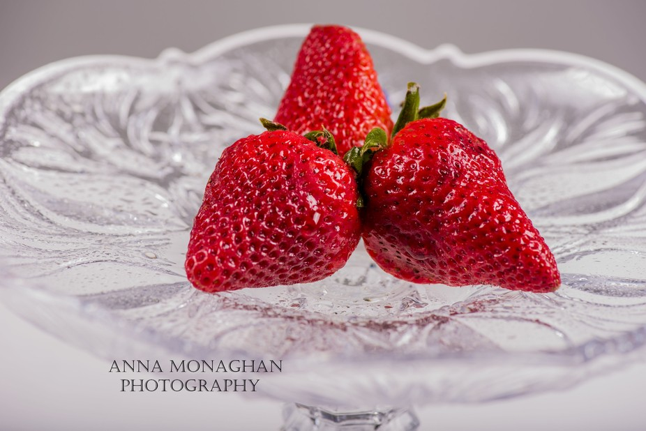 Strawberry is so good, I love photographing it because its vibrant color and soo sweet