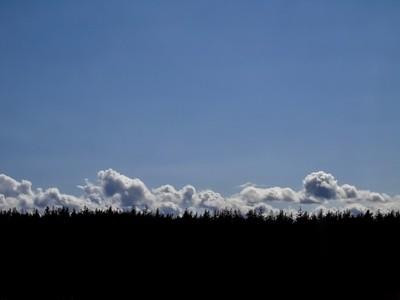 Montañas de nubes