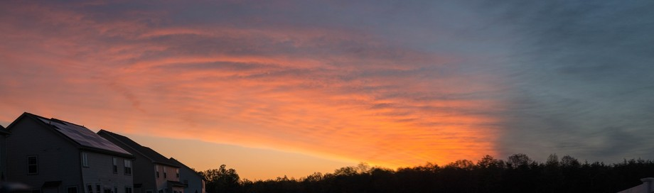 April sunrise