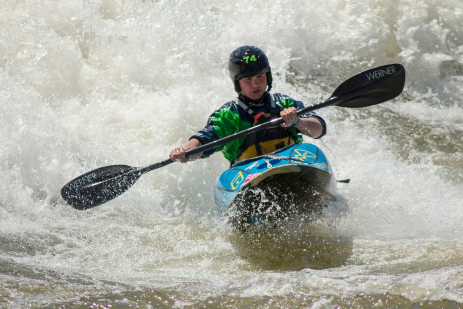 Photo taken at Columbus Whitewater Course, located in Columbus, Georgia.